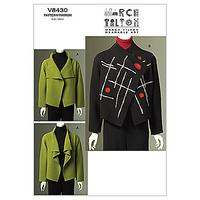 Vogue Marcy Tilton Women's Jacket Sewing Pattern, 8430