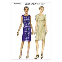 Vogue Women's Dress Sewing Pattern, 8995