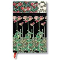 PaperBlanks Mucha Papaver Mini Multi Lined Journal