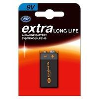 Extra Long Life 9V Boots Batteries x1