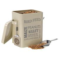 Burgon & Ball Bird Feed Tin, Cream
