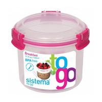 SISTEMA Round 0.53-litre Breakfast to Go Pot
