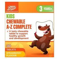 Boots Kids Chewable Multivitamin A-Z - 30