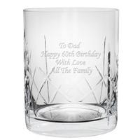 Crystal Whisky Tumbler Customised
