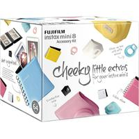FUJIFILM Instax Mini8 Accessory Kit - White, White