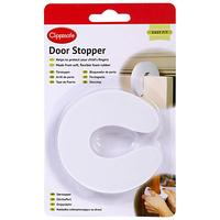 Clippasafe Door Stopper, White