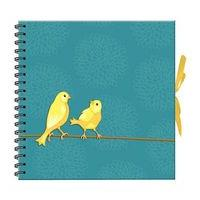 Birds Scrapbook Photo Album - 40 Sheets