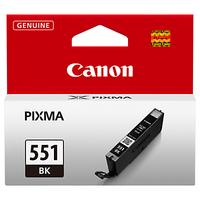 Canon CLI-551BK Inkjet Cartridge, Black