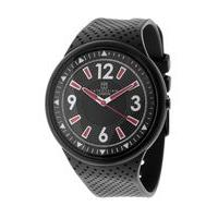 Tateossian Stainless Steel Mens Watch, Black
