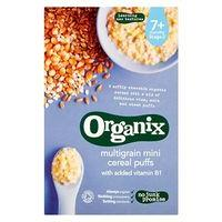 Organix Multigrain Mini Puffs 90g