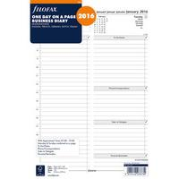 Filofax A4 Business Day Per Page Appointments Diary 2016