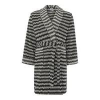 Linea Black chevron robe m/l