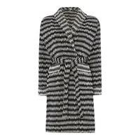 Linea Black chevron robe s/m