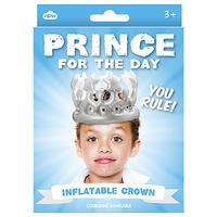 Prince For A Day Inflatable Crown