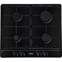 BELLING GHU60GC Gas Hob - Black, Black