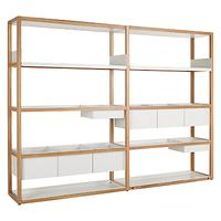 Case Lap Medium 2m Shelving Unit (Plus V2 Extension Kit)