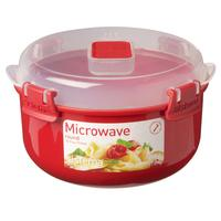 SISTEMA  Round 915 ml Microwave Box - Red, Red