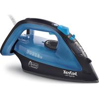 TEFAL Ultraglide FV4043 Steam Iron - Black & Blue, Black