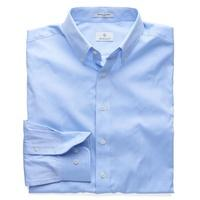 The Pinpoint Oxford Fitted Shirt - Capri Blue