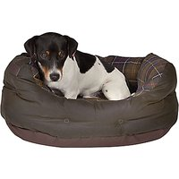 Barbour Waxed Cotton Dog Bed, 45cm