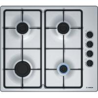BOSCH PBP6B5B60 Gas Hob - Stainless Steel, Stainless Steel