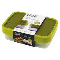 Joseph Joseph GoEat Compact 2-in-1 Lunch Box, Green