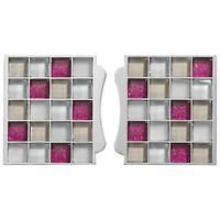 Aqualisa Mosaic Tile Inlays, Pink