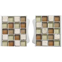Aqualisa Mosaic Tile Inlays, Stone