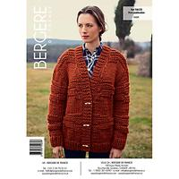 Bergere De France Alaska Women's Cardigan Knitting Pattern, 70025