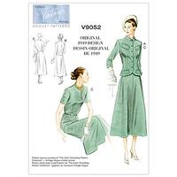 Vogue Vintage Women's Jacket and Dress Sewing Pattern, 9052