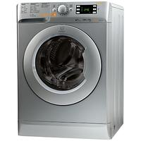 Indesit Innex XWDE751480XS Freestanding Washer Dryer, 7kg Wash/5kg Dry Load, A Energy Rating, 1400rp