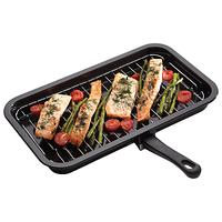 Kitchen Craft Enamel Grill Pan, 40cm