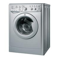 Indesit Washer Dryer IWDC 6125S  - Silver, Silver