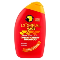 L'Oral Kids Extra Gentle 2-in-1 Cheeky Cherry Shampoo 250ml