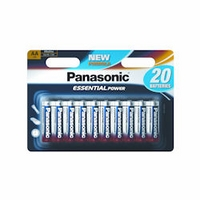 Panasonic AA batteries 20 pack