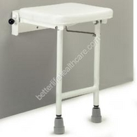 Denton Shower Seat Seat with legs 160kg 4kg (330mm x 480mm)