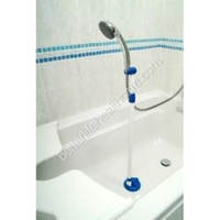 Suction Shower Arm And Grab Rail Shower Arm