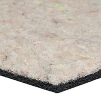 John Lewis & Partners Upcycled Felt and Rubber Underlay, 137cm Width
