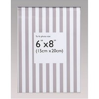 Silver plated photo frame - 8x6