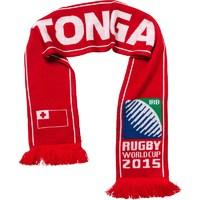 Rugby World Cup Tonga Scarf Flag Red