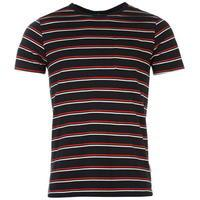 Soviet Double Stripe T Shirt Mens