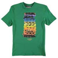 Ben Sherman Cassette Print T Shirt Junior Boys