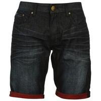 Firetrap Turn Up Shorts Mens