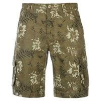 SoulCal Floral Cargo Shorts Mens