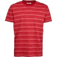 Onfire Mens Striped T-Shirt Red