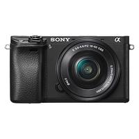 Sony A6300 Compact System Camera With 16-50mm Power Zoom Lens, 4K Ultra HD, 24.2MP, 4D Focus, Wi-Fi,