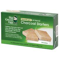 Big Green Egg Charcoal Fire Starters, Box of 24