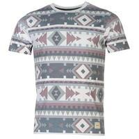 SoulCal All Over Print Aztec T Shirt
