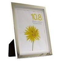 Silver Box Photo Frame 10x8