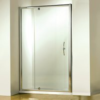 John Lewis & Partners 76 x 76cm Shower Enclosure with Pivot Door